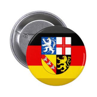 Saarland Flag Gem Button