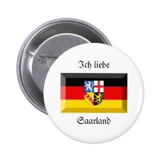 Saarland Flag Gem Pins