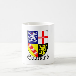 Saarland Wappen Coat of Arms Coffee Mug