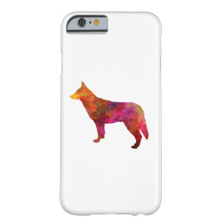 Saarloos Wolfdog in watercolor Barely There iPhone 6 Case