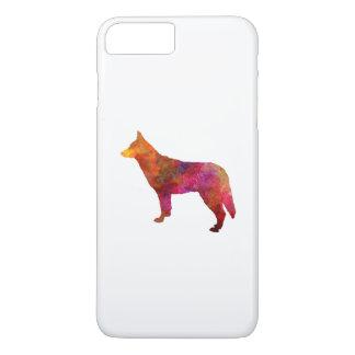 Saarloos Wolfdog in watercolor iPhone 8 Plus/7 Plus Case