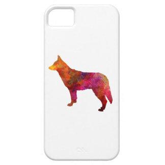 Saarloos Wolfdog in watercolor iPhone SE/5/5s Case