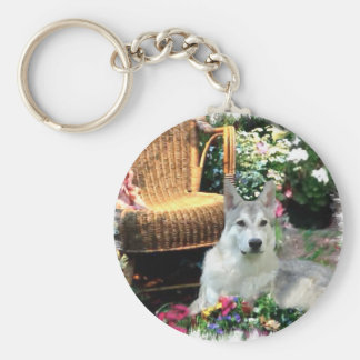 Saarlooswolfhond Art Gifts Keychain