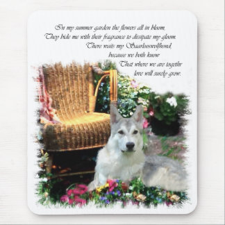 Saarlooswolfhond Art Gifts Mouse Pad