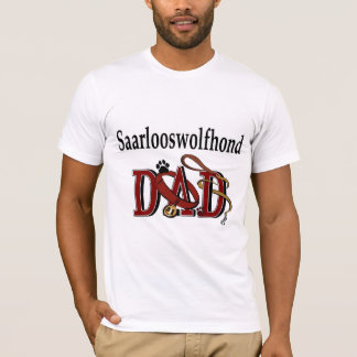 Saarlooswolfhond Dad Gifts T-Shirt