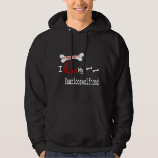 Saarlooswolfhond Gifts Hoodie