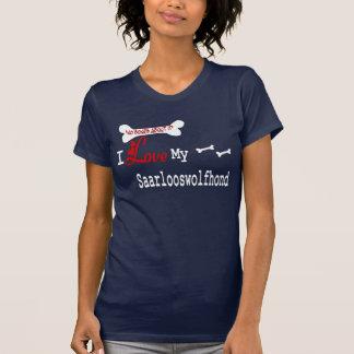Saarlooswolfhond (I Love) Apparel T-Shirt