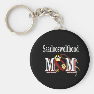 Saarlooswolfhond MOM Gifts Keychain