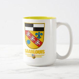 Saarlouis Kreis COA Two-Tone Coffee Mug