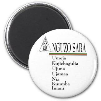 Saba 2 Inch Round Magnet