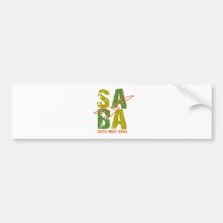 Saba DWI Car Bumper Sticker