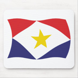 Saba Flag Mousepad
