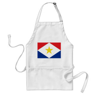 saba island flag Netherlands country region Aprons
