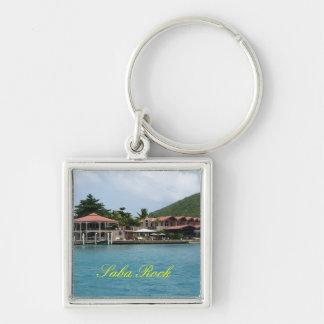 Saba Rock Keychain