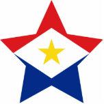 Saba Star Photo Cutout