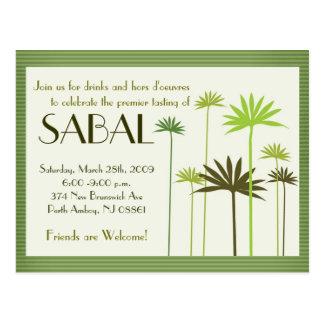SABAL :: NY Presentation Postcard