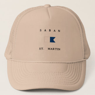 Saban St Martin Alpha Dive Flag Trucker Hat