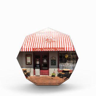 Sabana céntrica de la tienda de helado