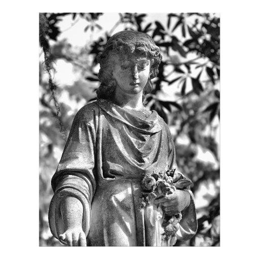 Sabana del cementerio de Bonaventure, GA Membrete