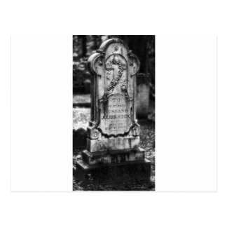 Sabana del cementerio de Bonaventure, GA Postales