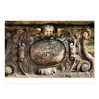 Sabana del cementerio de Bonaventure, GA Tarjetas Postales