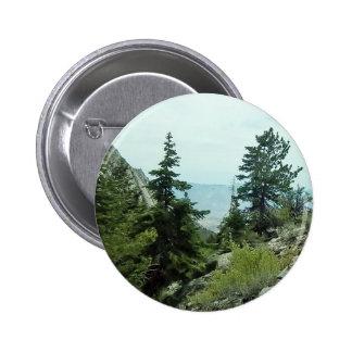 Sabana del helecho del botón #5- de la opinión del chapa redonda 5 cm