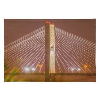 sabana encendida Georgia del puente Manteles Individuales