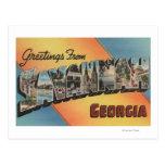 Sabana, Georgia - escenas grandes de la letra Tarjeta Postal