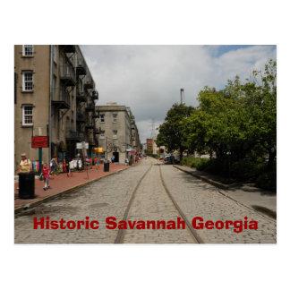 Sabana histórica Georgia Tarjetas Postales