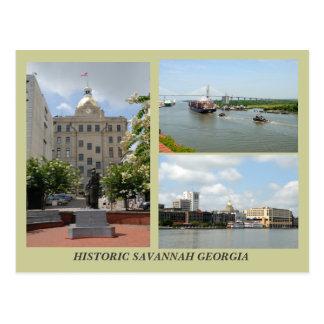 Sabana, postal de Georgia