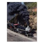 Sabana y ferrocarril de Atlanta, 4-6-2, no. 750, A Postales
