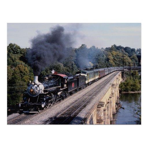 Sabana y ferrocarril de Atlanta, no. 750, villanci Tarjetas Postales