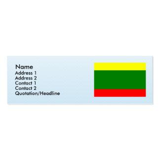 Sabanalarga Casanare, Columbia Business Card Templates