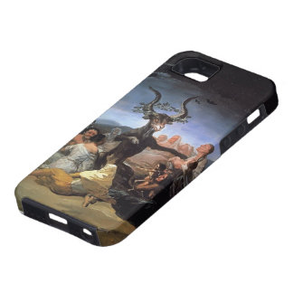 Sabat de las brujas de Francisco Goya- iPhone 5 Protectores