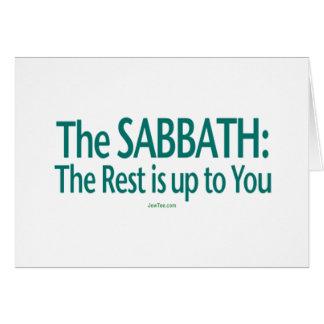 Sabat el resto incumbe a usted felicitación