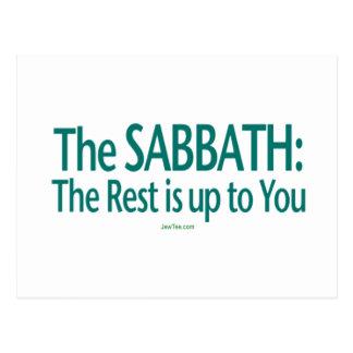 Sabat el resto incumbe a usted postal
