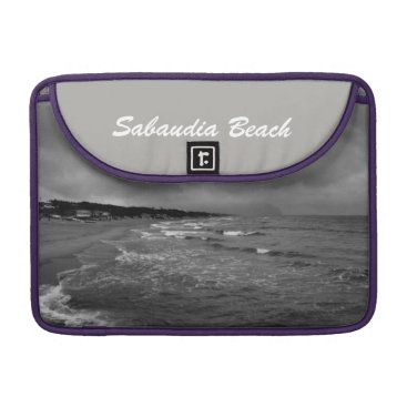 Beach Themed Sabaudia Beach MacSleeve MacBook Pro Sleeve