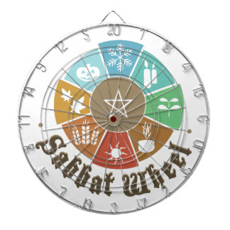 Sabbat Wheel Dartboard