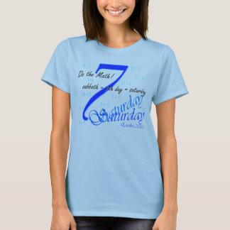 Sabbath equals Saturday T-Shirt