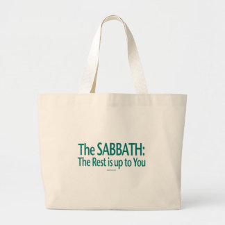 Sabbath The Rest Is Up To You Jumbo Tote Bag