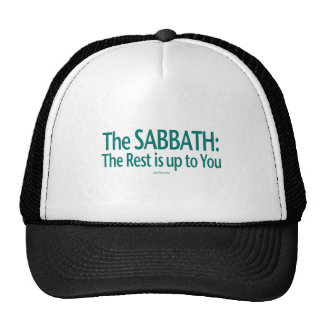 Sabbath The Rest Is Up To You Trucker Hat