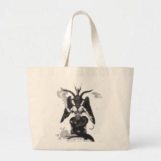 Sabbatic goat large tote bag