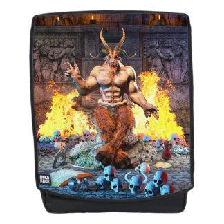 Sabbatic Goat Satanic Baphomet Backpack