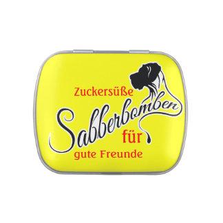 Sabberbomben / Safe Mints Jelly Belly Candy Tin