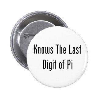 Sabe el dígito pasado del pi pin