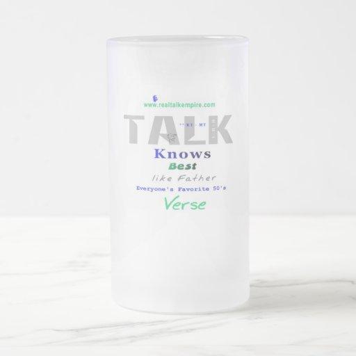sabe - el vidrio tazas de café
