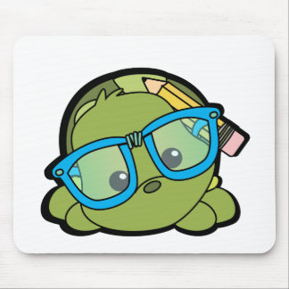 Sabelotodo de la tortuga alfombrilla de ratones