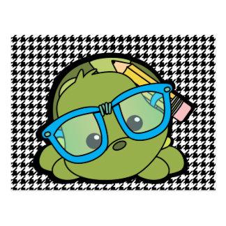 Sabelotodo de la tortuga postal