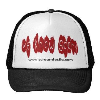 Sabemos asustadizo gorras de camionero