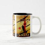 Sabena Art Deco Compass Mug